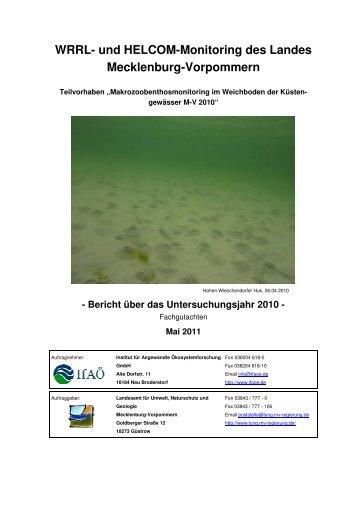 WRRL- und HELCOM-Monitoring des Landes Mecklenburg ... - IfAÖ
