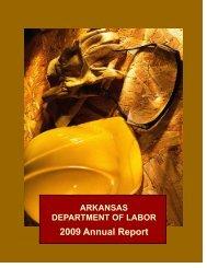 2009 Annual Report - Arkansas Department of Labor