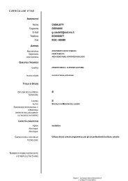 Nome CASALETTI Cognome GIOVANNI E-mail g.casaletti@ausl.mo ...