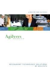 R es ta u R anttechnologysolution sbyagi ly sys - Hospitality ...