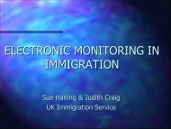 Electronic Monitoring in Immigration