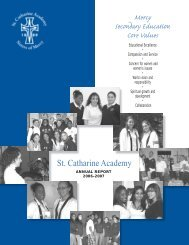 SCA Annual Report_06-07.pdf - St. Catharine Academy