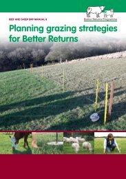 Planning Grazing Strategies for Better Returns - Eblex