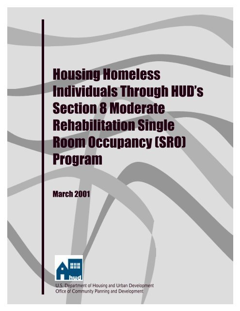 Housing Homeless Individuals Through HUD's Section 8