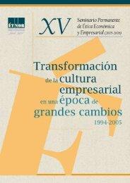 Transformación de la cultura empresarial en una ... - Fundación Étnor