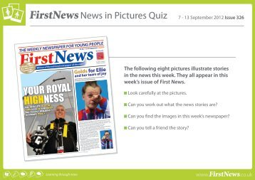 YOUR ROYAL HIGHNESS - First News