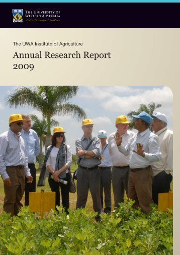 Annual Research Report 2009 - The University of Western Australia