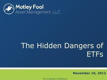The Hidden Dangers of ETFs