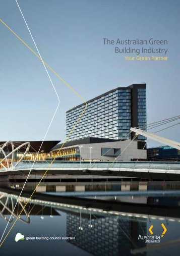 The Australian Green Building Industry - Austrade