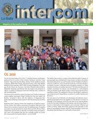 January 2011 - La Salle.org