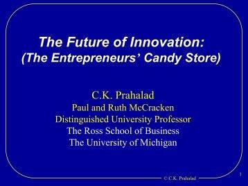 The Future of Innovation - sueddeutsches-institut.de
