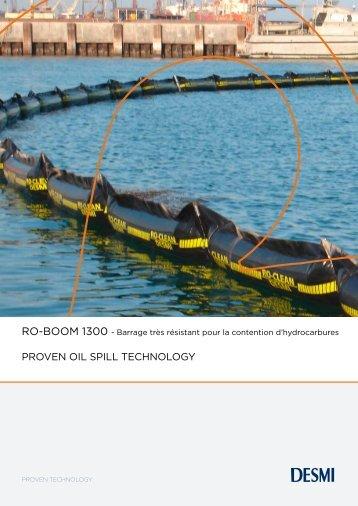PROVEN OIL SPILL TECHNOLOGY - Desmi