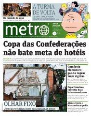 Copa das Confederações não bate meta de hotéis - Metro