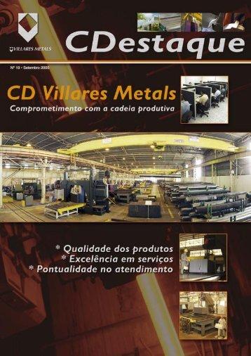 Nº 19 • Setembro 2005 - Villares Metals