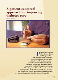 A patient-centered approach for improving diabetes care - CECity