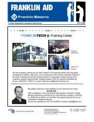 FranklinTech Trainingcenter.pdf - Franklin Electric Europa