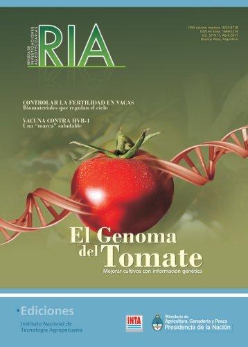Descargar en pdf - Revista RIA - INTA