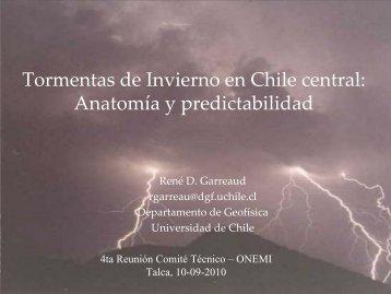 Información Meteorologica y Gestión de Desastres Naturales
