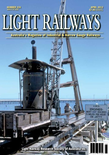 free sample copy of Light Railways (pdf download)