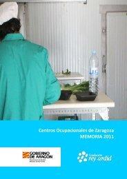 Centros Ocupacionales de Zaragoza MEMORIA 2011