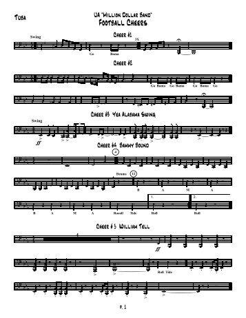 Tuba - University of Alabama Bands