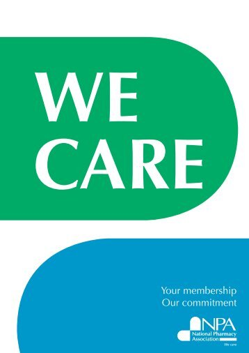 Membership brochure - National pharmacy association