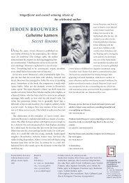 English (PDF document) - Nederlands Letterenfonds