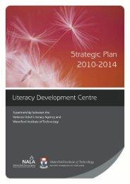 LDCstrategicplan2011.. - Waterford Institute of Technology
