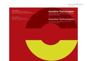 Cover Assistive Technologien, Ethische Aspekte der ... - Mehr als Ethik