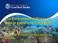 An Environmental History of Human Impacts on Coral Reefs