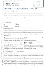Beitrittserklärung Hesse Newman Classic Value 4 (Seite 1/2)