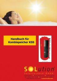 Abmessungen KSS - Solution Solartechnik GmbH