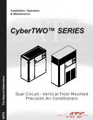 CyberTWO™ SERIES - Stulz Air Technologies Inc.