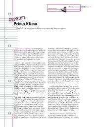 Prima Klima von Tillmann Prüfer - Novo