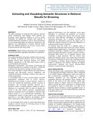 Extracting and Visualizing Semantic Structures ... - Indiana University