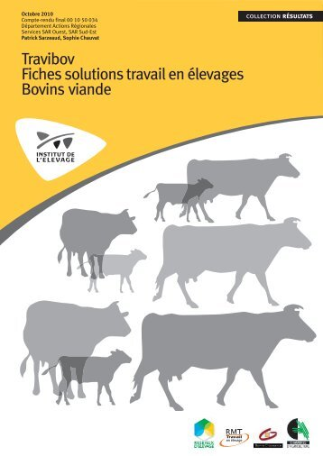 Travibov Fiches solutions travail en élevages Bovins ... - Web-agri
