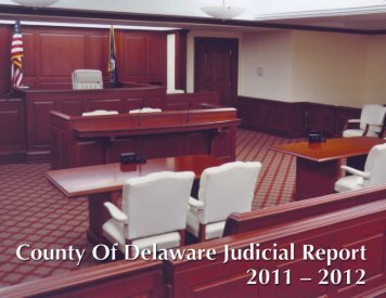 Judicial Report - Delaware County Courthouse and Government ...