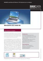 MAXDATA ECO 4000 IW