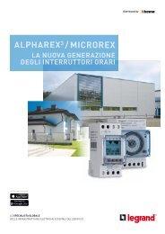 Alpharex3-e-Microrex catalogo - Professionisti BTicino