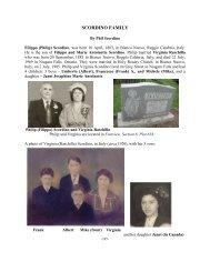 The Scordino Family - Niagara Falls, Ontario, Canada