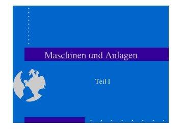 Sicherheitssprecher Markart Maschinen Teil I ... - aichner.biz