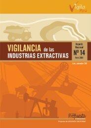 Vigilancia de las Industrias Extractivas. Reporte Nacional Nº 14