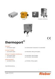 thermoport - Rieber GmbH & Co. KG