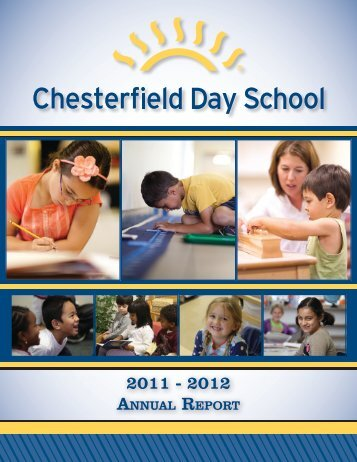 2011-2012 Annual Report - Chesterfield Day School