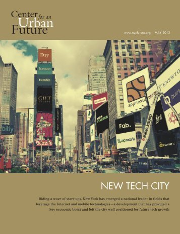 New Tech City - Center for an Urban Future
