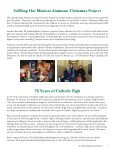 HighlighterFall/Winter2013 - The Catholic High School of Baltimore - Page 6