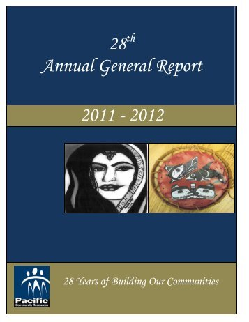 2011 - 2012 - Pacific Community Resources