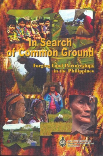 In Search of Common Grounds: Forging Land ... - ANGOC Site