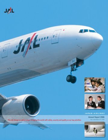 Annual Report 2006 - JAL | JAPAN AIRLINES