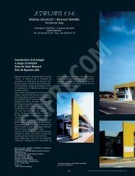 ATELIER 114 - GULACSY Mathias - L'Architecture